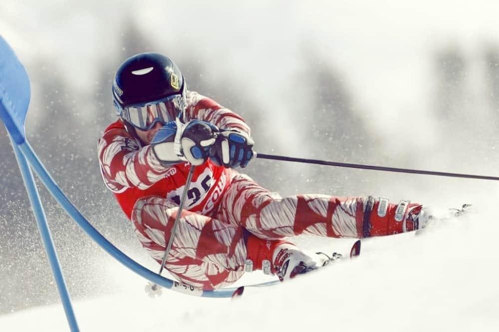 Le ski de fond et le ski alpin